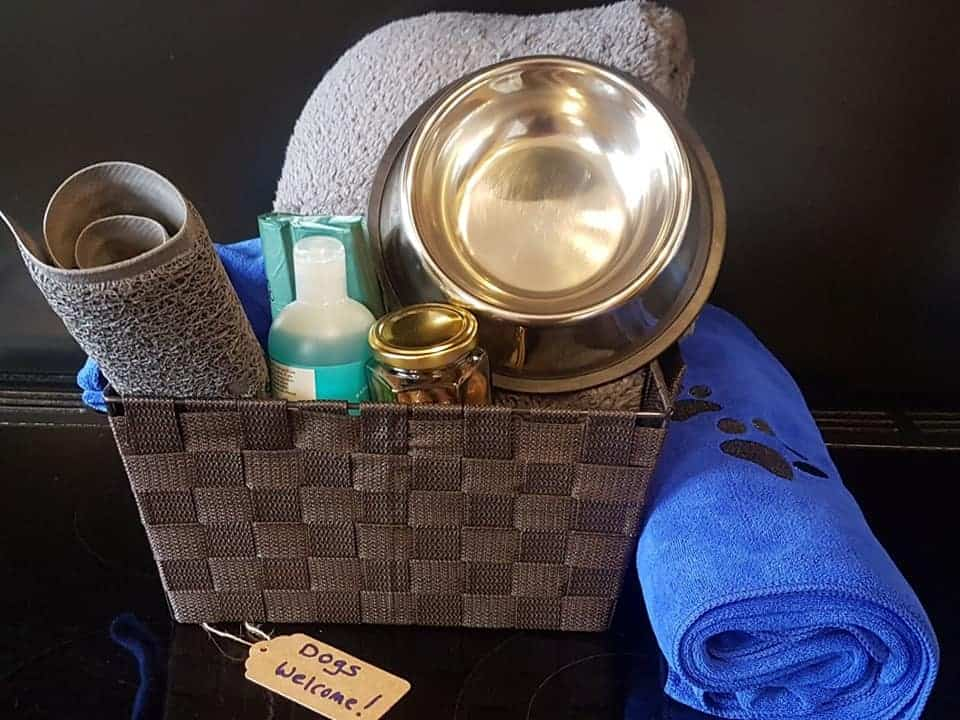 Riverside House Doggy Welcome Hamper