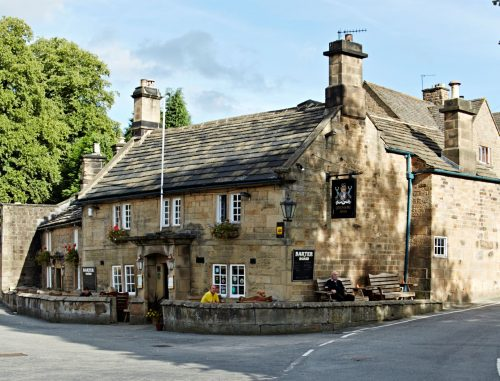 The Devonshire Arms, Beeley, External