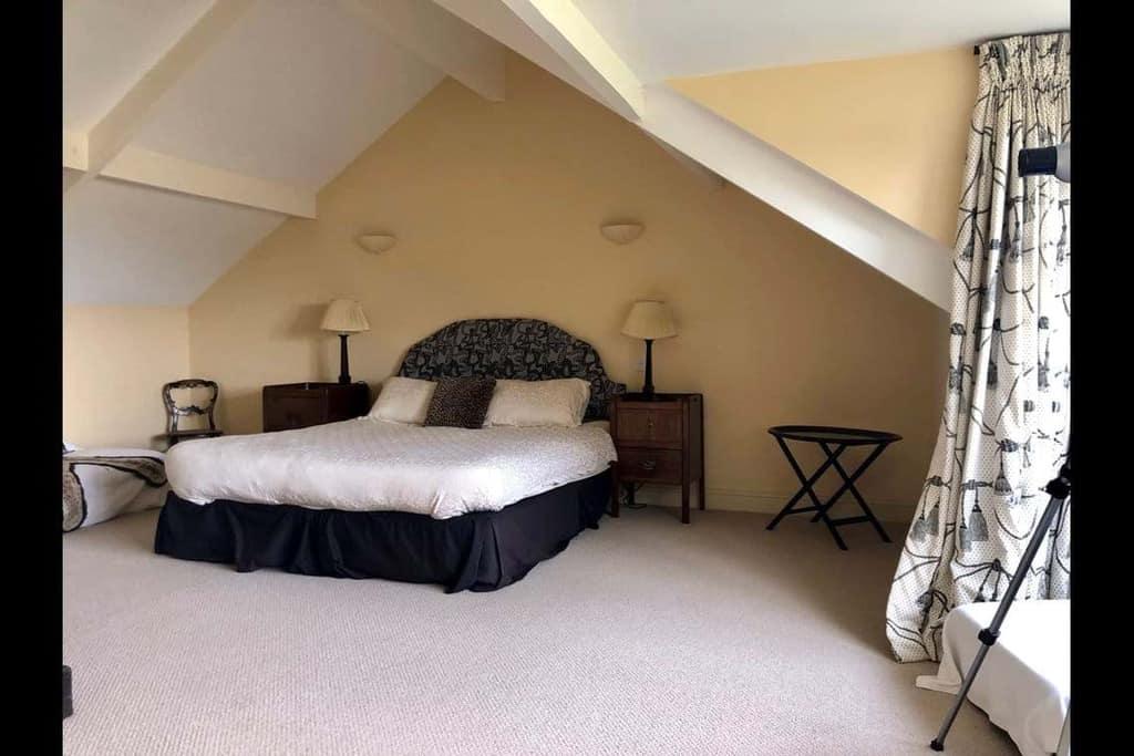 Master Bedroom Lark Cottage Dog Friendly Norfolk