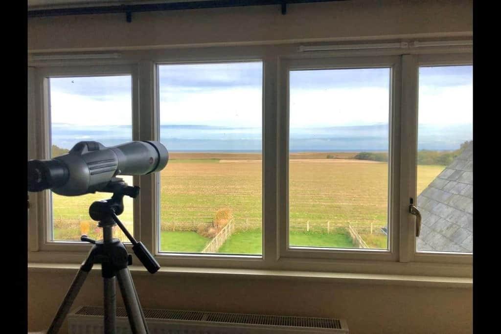 View From Lark Cottage Dog Friendly Norfolk