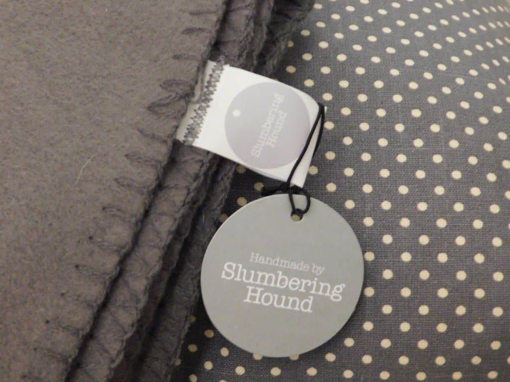Slumbering Hound Handmade Dog Blanket