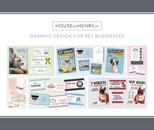 House of Henry Graphic Design Dotty4Paws