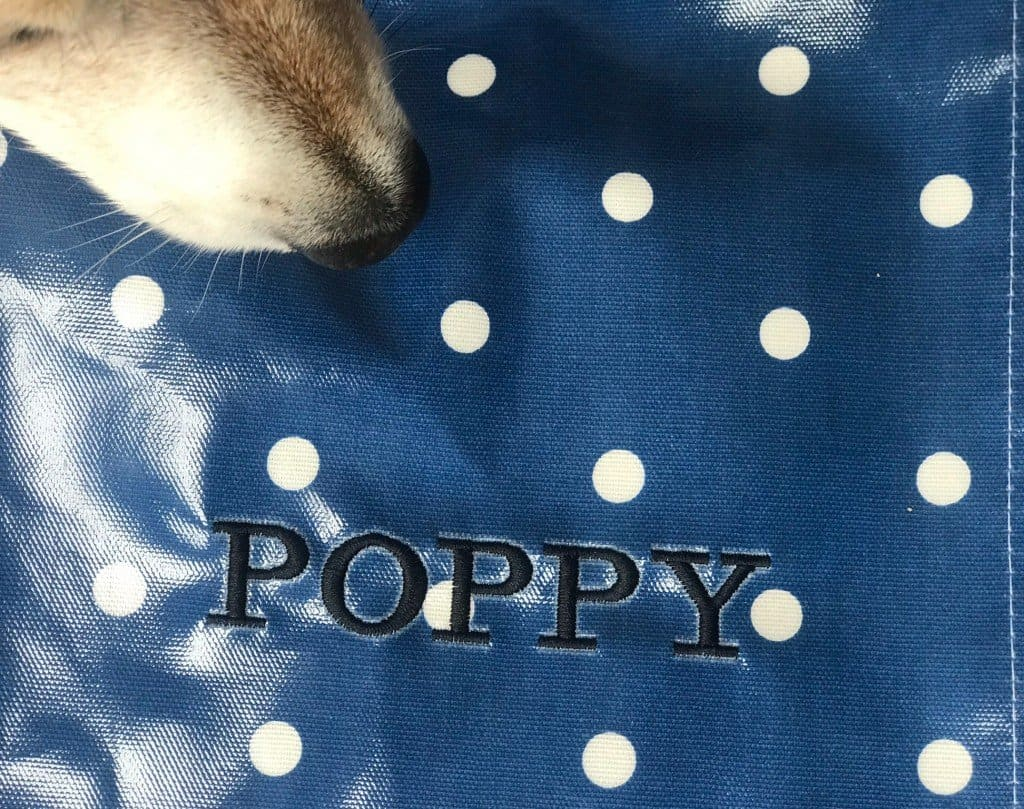 Personalised Dog Bag