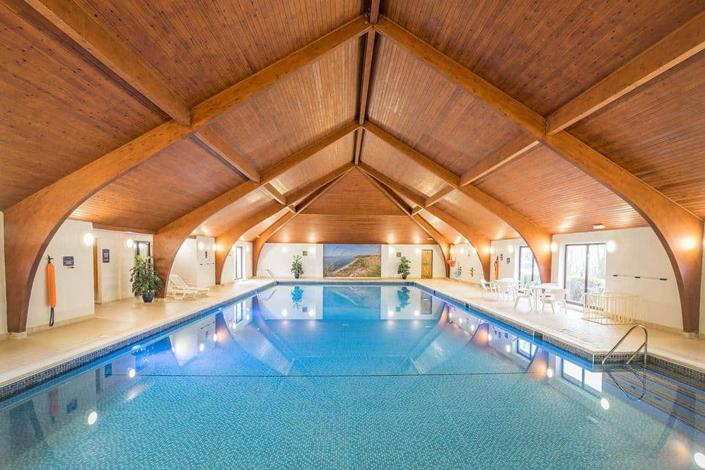 Indoor Swimming Pool at West Dorset Leisure Holiday Park