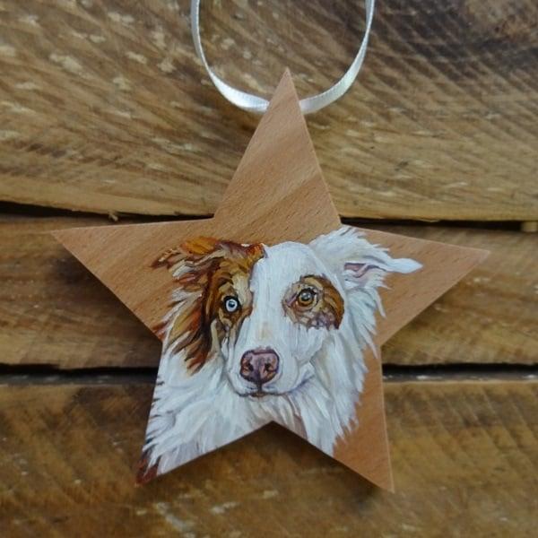 Dog Portrait Star Wirelife Art