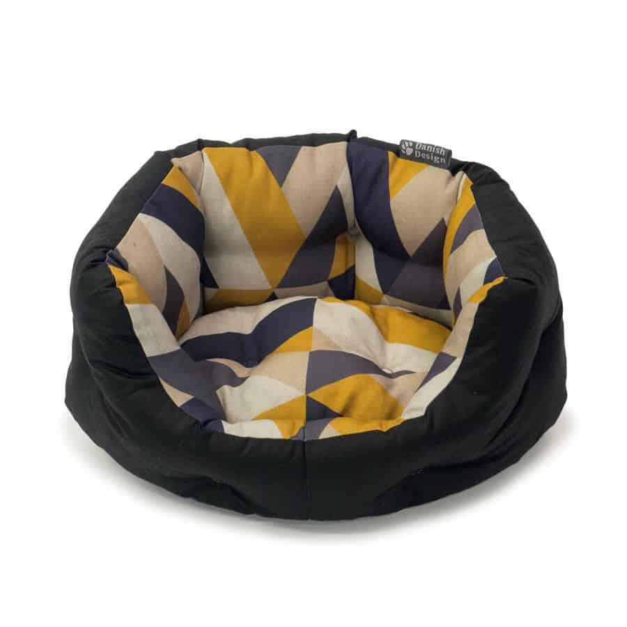 Geometric Dog Bed United Dogdom