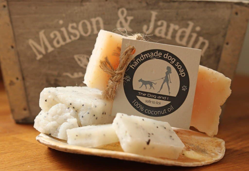The Dog and I Natural Handmade Soap Bars for Dogs