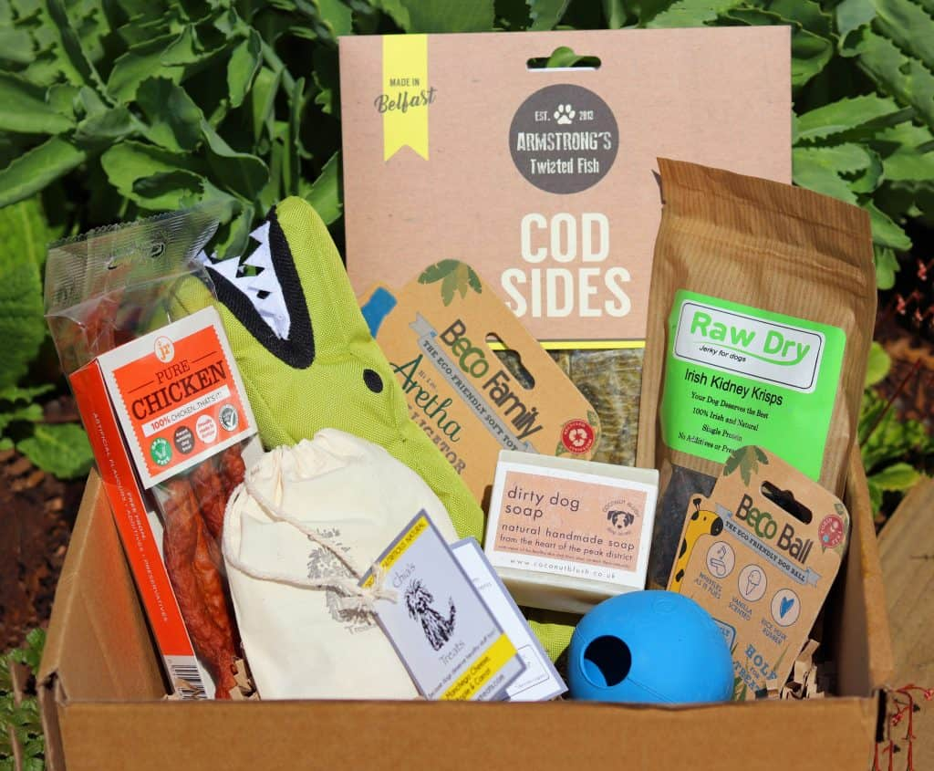 Collar Box Subscription Box for Dogs