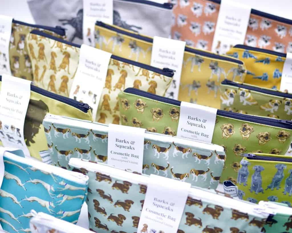 Barks and Squeaks Wash Bags