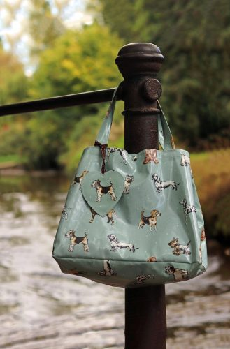 The Cosy Canine Company Oilcloth Shopping Bag