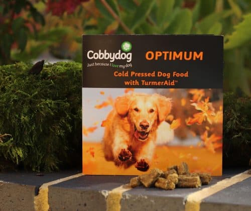 Cobbydog Optimum Cold Pressed Dog Food with TurmerAid