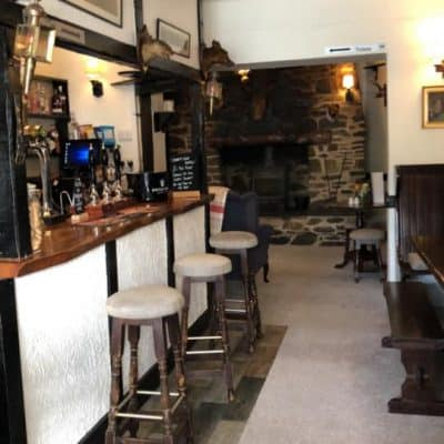 The Royal Oak Withypool Dog Friendly Bar Somerset