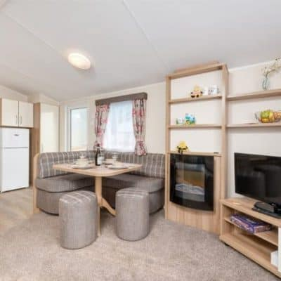 Premier CasaPerro Two Bedroom Caravan Dog Friendly Devon