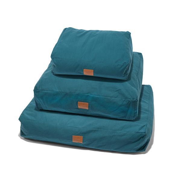 Fidos Nest Luxury Dog Beds Teal Blue