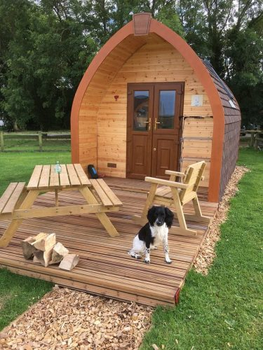 Bracken Burrows Glamping Pods Dog Friendly East Riding Yorkshire