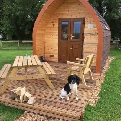 Bracken Burrows Glamping Pods Dog Friendly East Riding Yorkshire