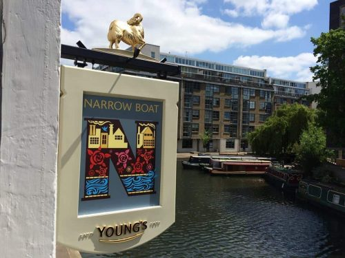 Narrowboat Pub dog friendly Islington London.jpg