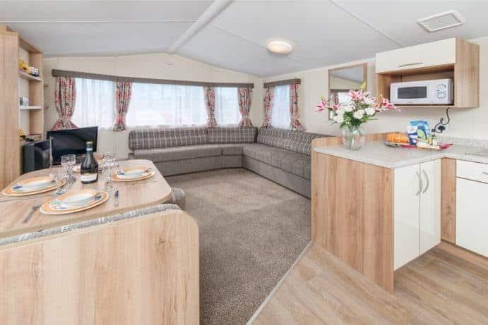 Premier CasaPerro Two Bedroom Caravan Pet Friendly Devon