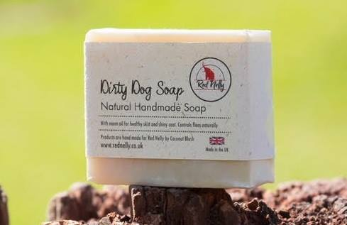 Red Nelly Natural Dog Soap