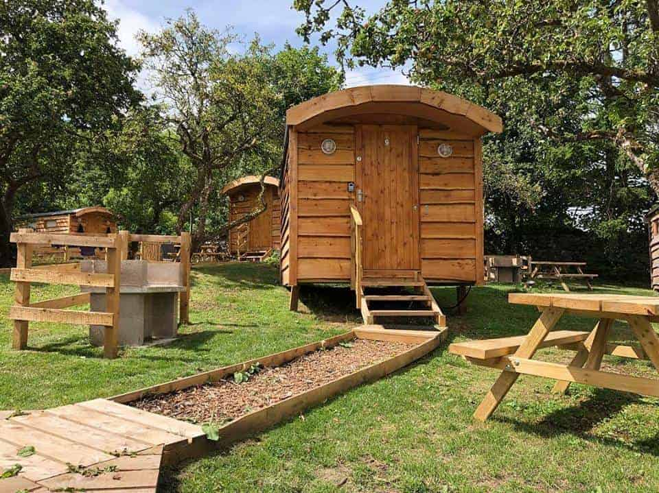 Orchard Heritage Hideaways Dog Friendly Camping Pods Penrith