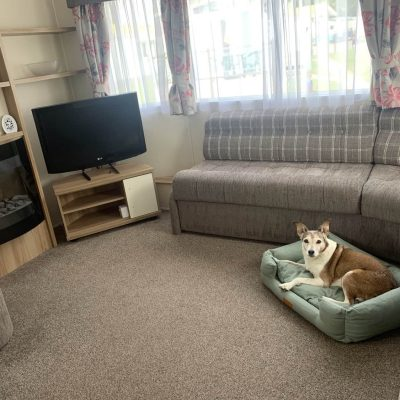 Dog Friendly Welcome Family Casperro Caravan Dawlish Warren Devon