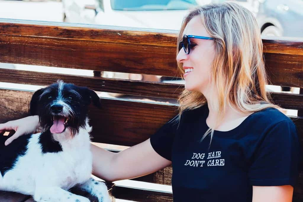 Dog Hair Don't Care T Shirt
