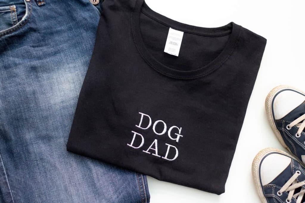 Dog Dad T Shirt