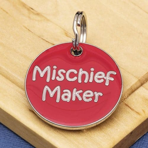 Pet Id Tags Express Mischief Maker