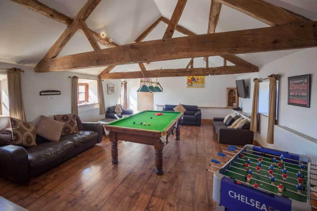 Much Dewchurch Cottages Games Room