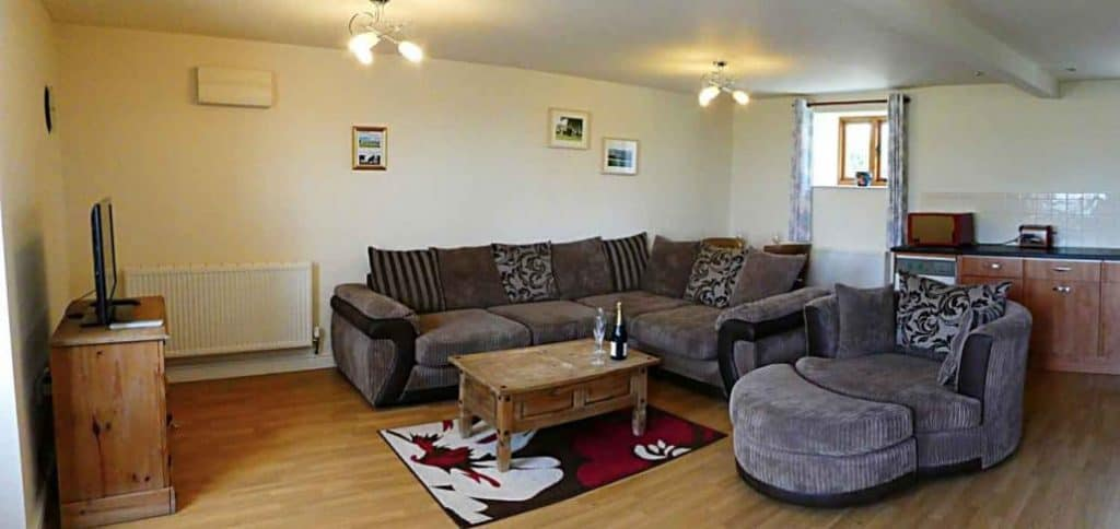 Much Dewchurch Cottages Wild Honey Living Room
