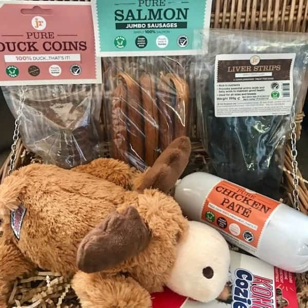 Natural Treat Gift Hampers for Dogs