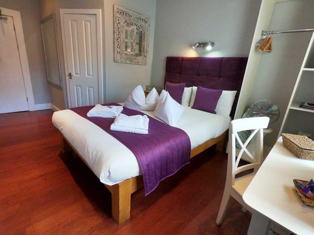 Bedroom at Oriental Hotel Brighton