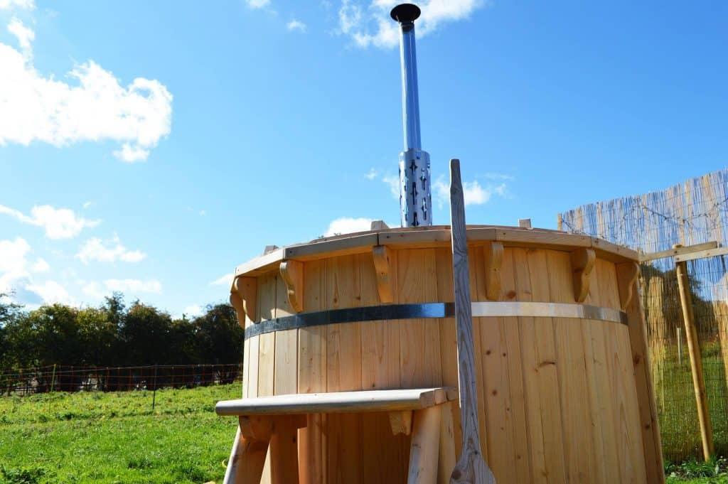 Country Bumpkin Yurts Hot Tub