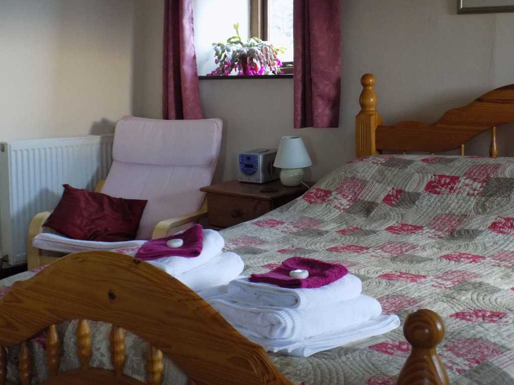 Bedroom at Rough Top Cottage