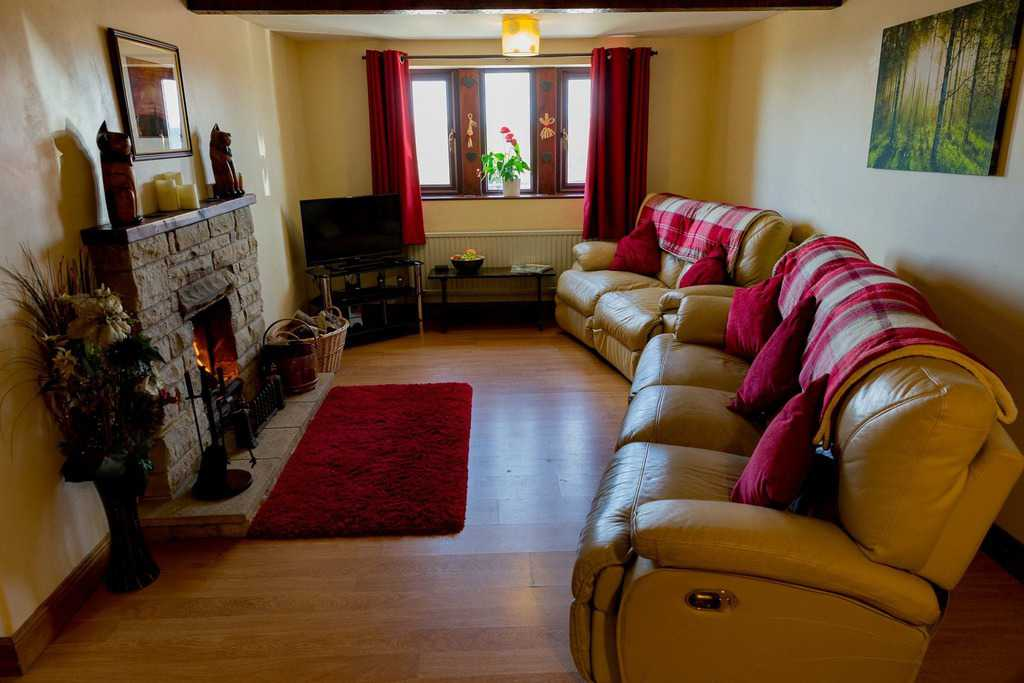 Lounge at Dog Friendly Rough Top Cottage