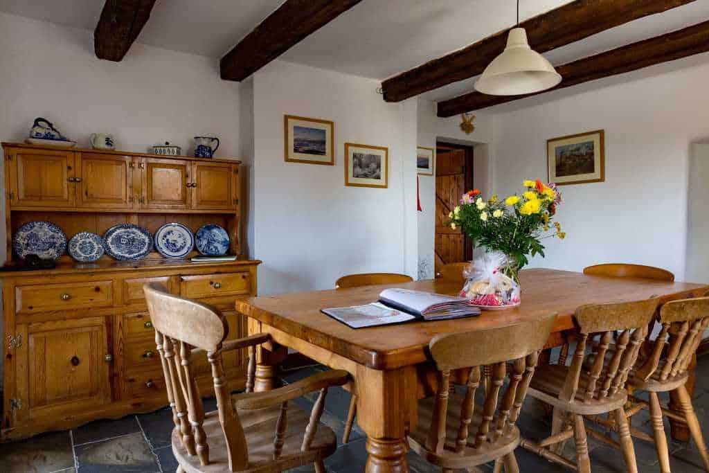 Farmhouse Kitchen at Rough Top Cottage