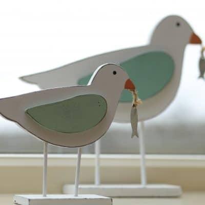 Wooden Seagulls