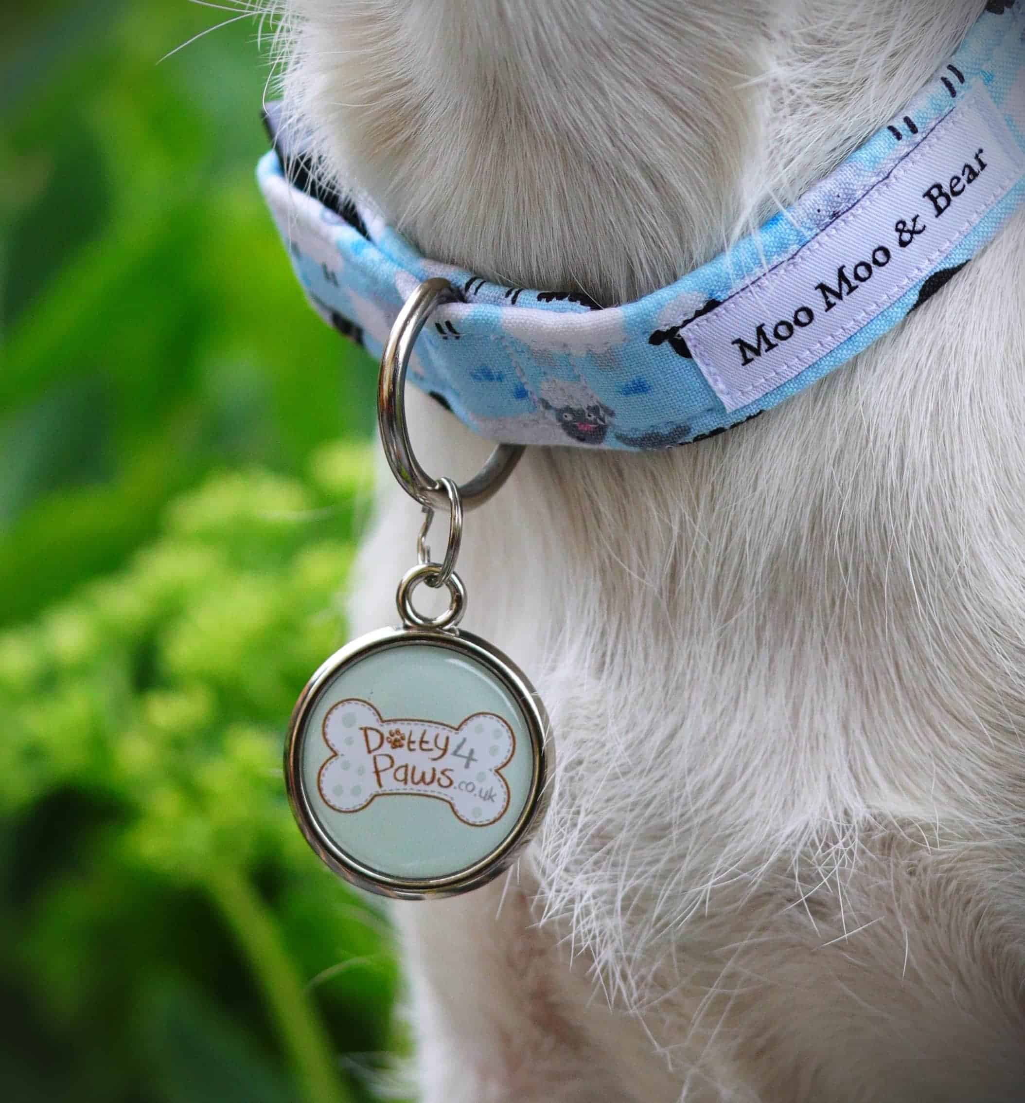 Branded Logo Dog Tag