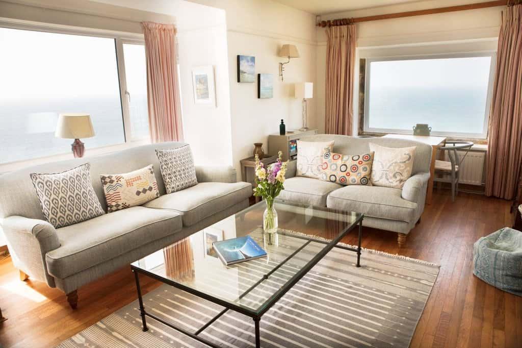 Stylish Cornish Cottages Living Room