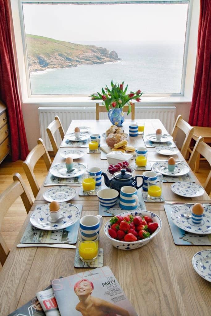 Stylish Cornish Cottages Dining Room
