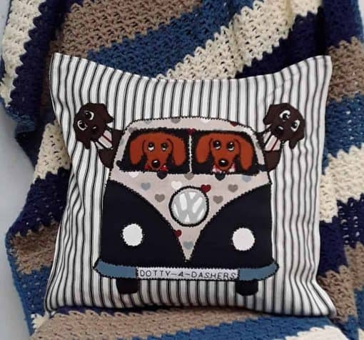 Campervan cushion