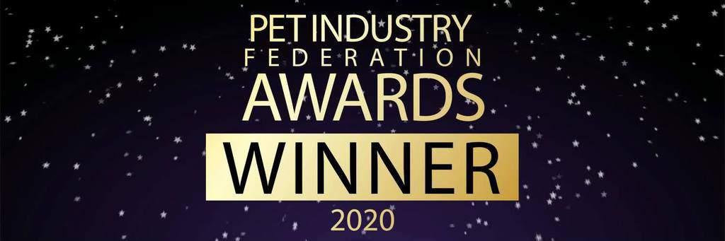 Pet Industry Awards Winner