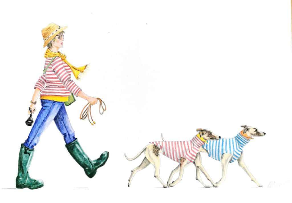 Bespoke Dog Illustrations Dotty4Paws