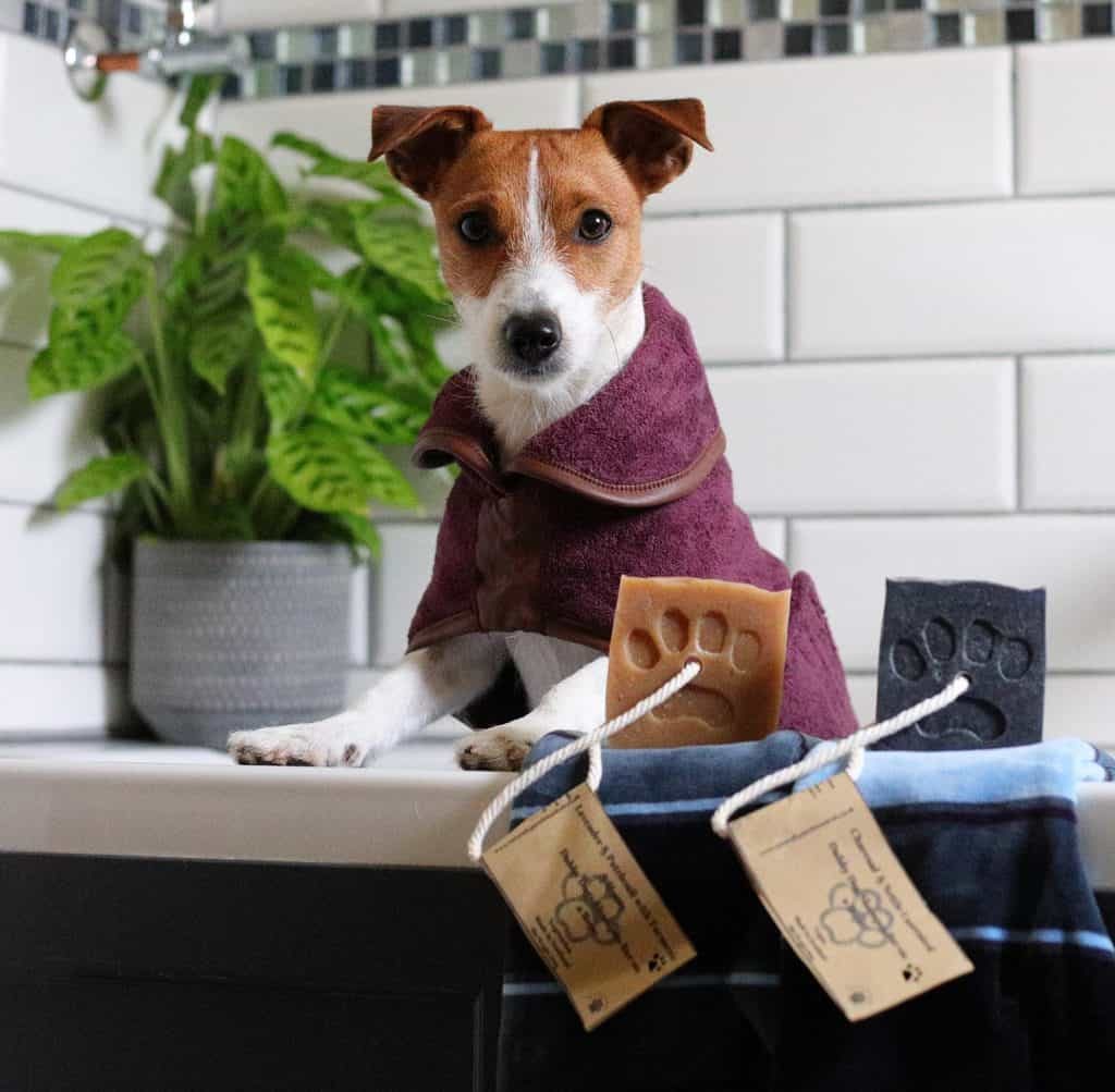 Natural Dog Shampoo Bars