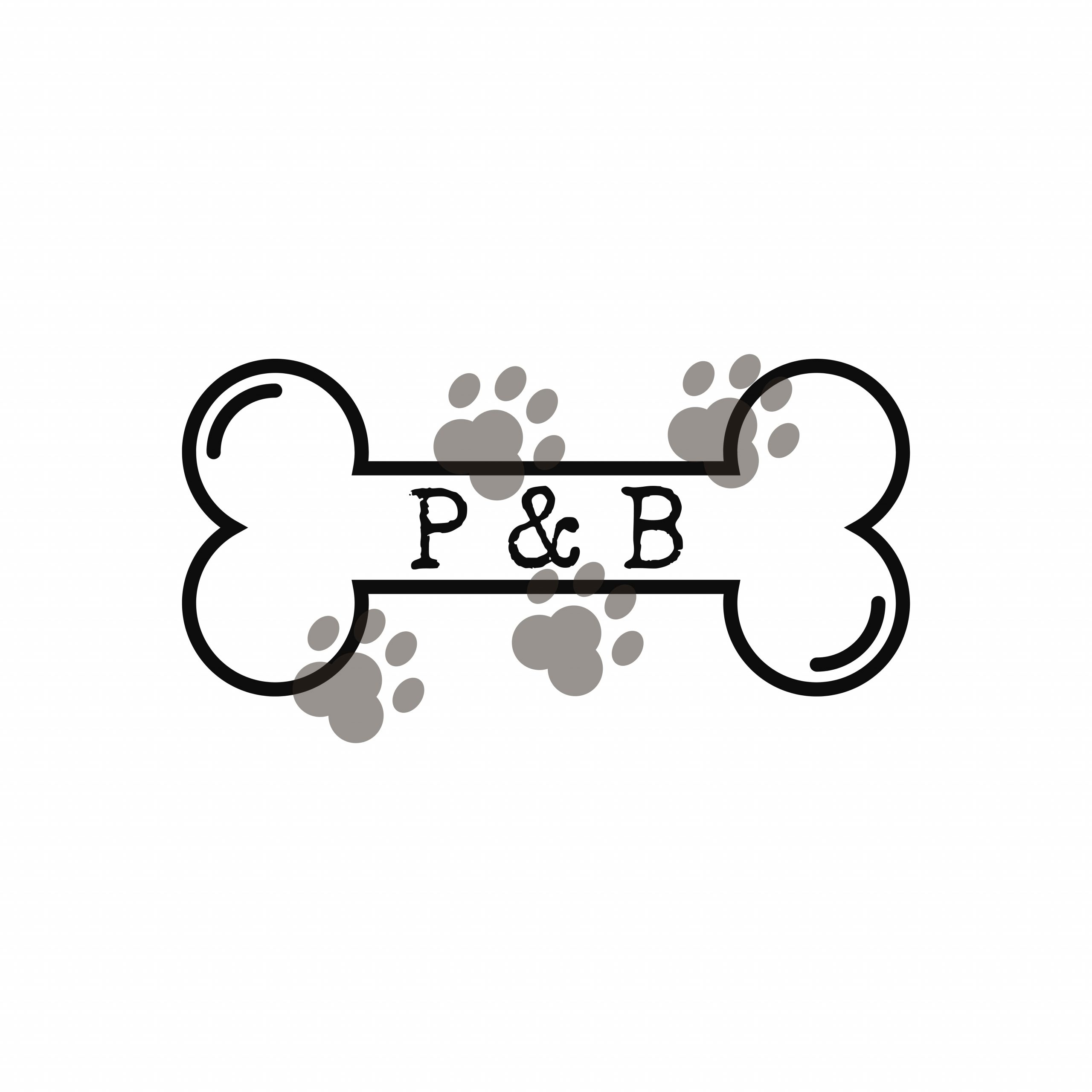 Paw and Bone Logo