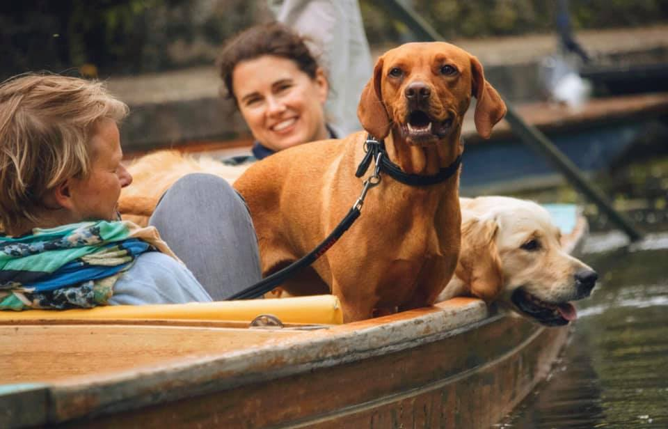 Dog friendly Punting Cambridge