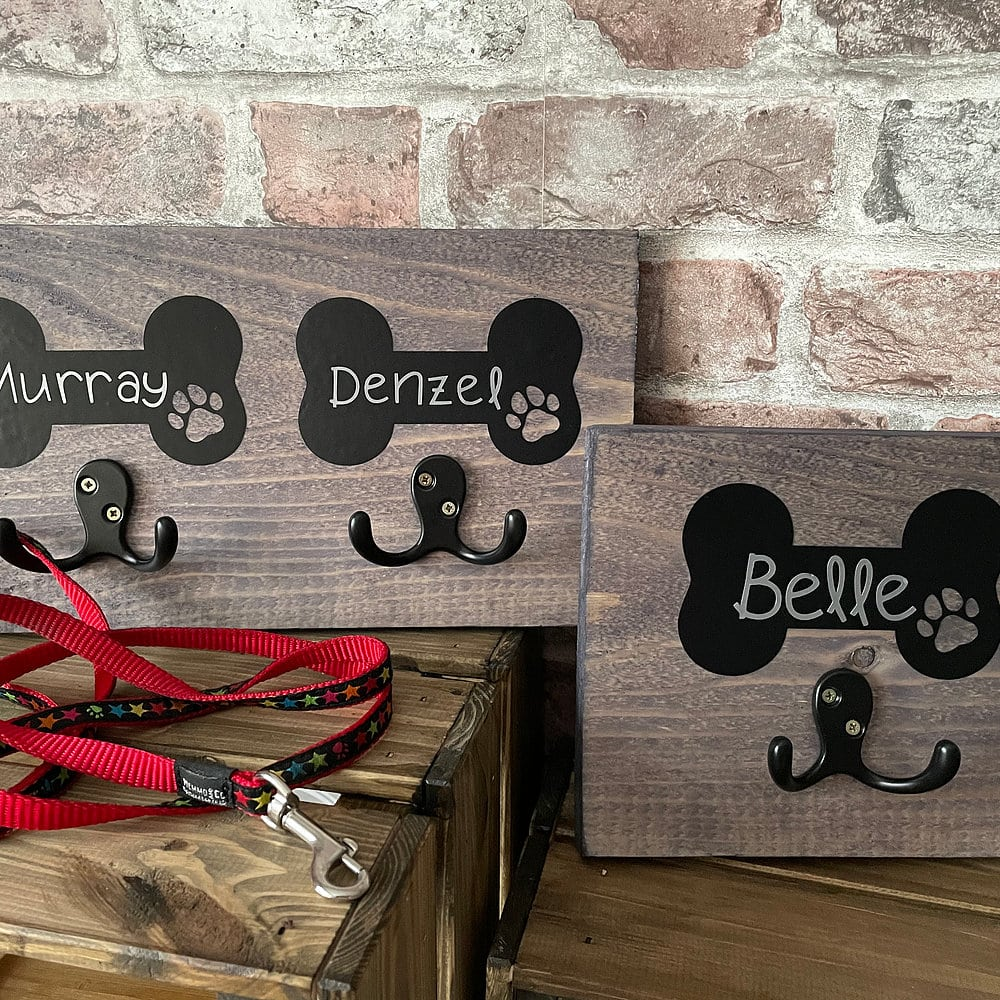 Personalised Lead Hook The Artisan Dog Co